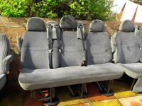 mercedes sprinter rear seats