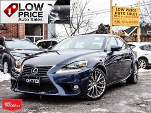 2015 Lexus IS 250 AllPowerOpti*Htd&CoolSeats*Camera*Warranty*