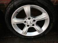 "16"" Mercedes alloy rims"