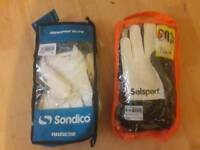 Goalkeeping gloves size 10 and 11 brand new