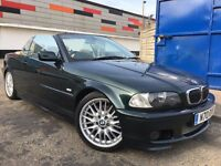 BMW 3 Series Convertible 3.0 330Ci M Sport Full Service History Cream Interior Harman Kardon