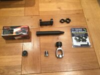 Scope mounts, air rifle and shooting bits