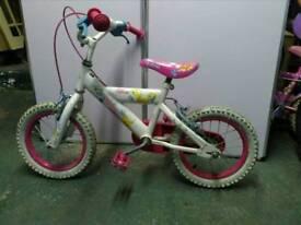 Girls 14 inch bike