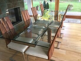 Calligaris extending dining table - stunning example
