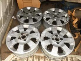 "4x100 15"" Alloy Wheels, Trike Kit Car Etc"