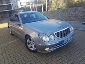 Mercedes-Benz E Class 2.7 AVANTGARDE E270 CDI AUTOMATIC CALL 07709297381