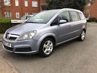 Vauxhall Zafira 1.8 Breeze 7 Seats Clear HPI Lovely Family car