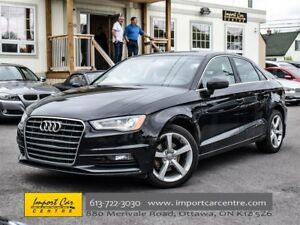 2015 Audi A3 TDI Komfort DIESEL LEATHER PANO ROOF