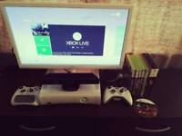 Xbox 360 with kinect 2 controlers Games