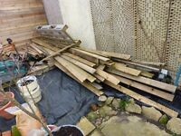Huge amount of pallet wood and other timber. Mostly dismantled and ready for use.