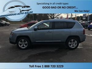 2014 Jeep Compass NORTH SPORT, LEATHER, 4X4, VERY NICE UNIT!!!!!