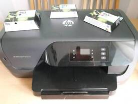 HP OFFICE JET PRINTER WITH BRAND NEW INK