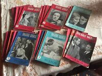 Vintage 1950s Theatre World Magazines - collection of 31
