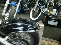 Yamaha XVS 650 -1100 chrome front fender rail..