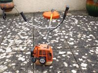 Petrol lawn trimmer/brushcutter
