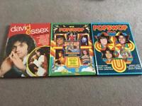 Pop Annuals 1975 to 1976 three books