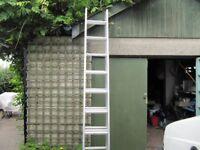 Werner tripple tread 3 extension ladder.