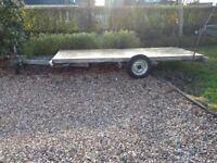 Long base trailer - old caravan base