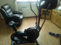 Gym master exercising excellence crosstrainer bike £50 ono.