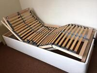 Electric bed base
