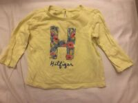 Various designer baby girl clothes 0-2 years including Ralph Lauren and Tommy Hilfiger