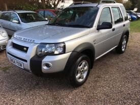 Land Rover Freelander Diesel 2.0 TD4 SE,2005,Full History,New MOT,2 keys,High spec,Clean example