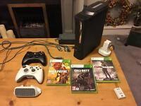 Xbox 360 Elite with extras