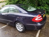 Mercedes Benz CLK LPG FULL 12 MONTH MOT VERY ECONOMICAL ON FUEL