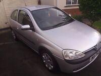 Vauxhall Corsa sxi 2002.