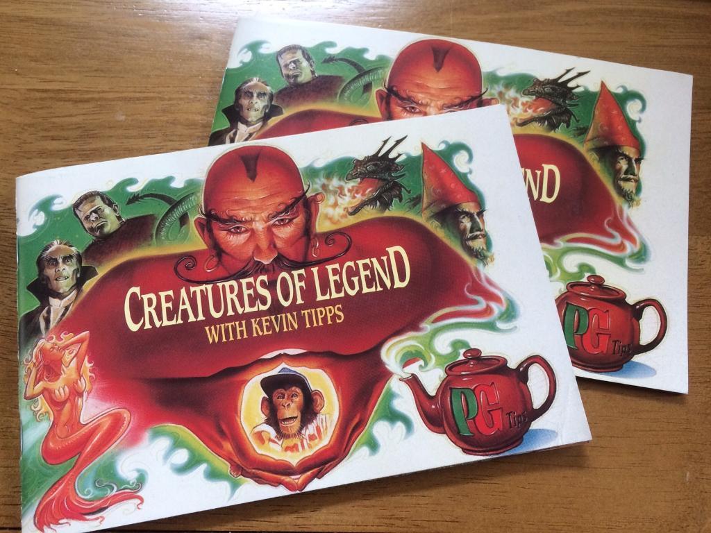 PG Tips creatures of legend