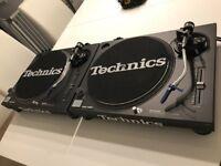 Technics 1210 MK2 Turntables - Mint Condition