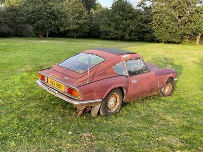 Triumph GT6 MK3 project for total restoration.