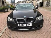 NEW SHAPE BMW 3 SERIES-DIESEL&6 SPEED GEARBOX-FULL SERVICE HISTORY-UP TO 60 MPG-SUPERB BLACK EXAMPLE