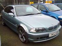 """IMMACULATE BMW 325 SE SPORT FULL LEATHER AC SCNITZER ALLOYS 19"""" STUNNING £1200"""