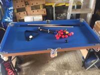 Kids snooker table.