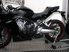 Reduced Honda Cbr650f black 2016