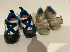 Shoes. Nike & ECCO. Almost new. Size 21