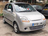 2008/58 REG CHEVROLET MATIZ 1.0 SE+ ** IDEAL FIRST CAR ** £1099