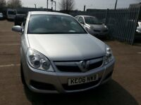 VAUXHALL VECTRA 1.8 VVT DESIGN 2006 REG 5DR ALLOYS LEATHER SAT NAV
