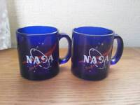 2 x NASA mugs, made in usa.