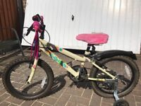 Kids bike in mint condition and hardly used please see pics