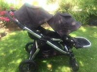 Baby jogger city select double travel system