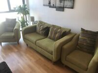Marks and Spencer Sofa Suite (Two Seater Sofa and Two Arm Chairs)