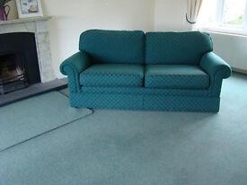 Carpet and underfelt