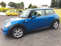 MINI ONE PIMLICO 2011 SPECIAL EDITION ***ONLY 54000 MILES ***MOT JUNE 2018***