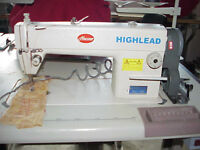 Highlead Industrial Sewing Machine in excellent as new condition
