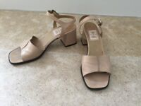 Sand Coloured Leather Shoes