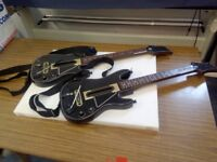 Guitar hero guitars x2 for xbox 360