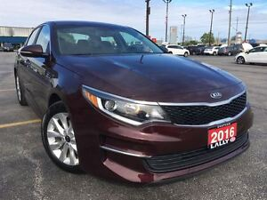 2016 Kia Optima LX+, Push Start, Rear Cam, Power & Memory seat