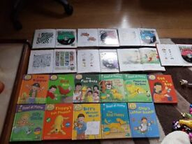 Large bundle of biff,chip,kipper books